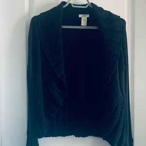 Cache Black Knitted Sweater - size medium